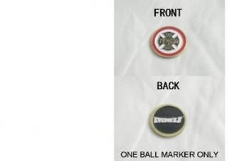 Fire Department Double Sided Ball Marker