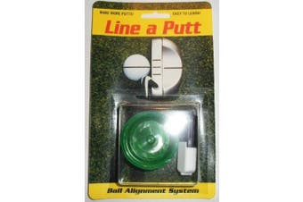 Line-A-Putt Mark Golf Ball w/ Line Around Equator NEW