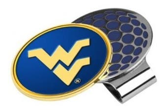 West Virginia Mountaineers Golf Hat Clip & Ball Marker