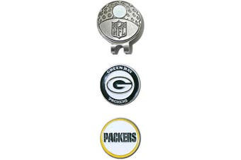 (Green Bay Packers) - NFL Green Bay Packers Cap Clip With 2 Markers