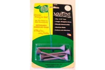 Martini Unbreakable Golf Tees Straight 5 ct Lavender