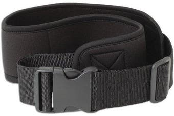 Caddis 7.6cm Black Deluxe Wading Belt