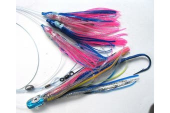 Tuna Bullet Daisy Chain: Mahi Magician Fishing Lure for All Tuna Mahi Wahoo Marlin