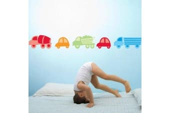 Forwalls Transport Removable Wall Decal Stickers