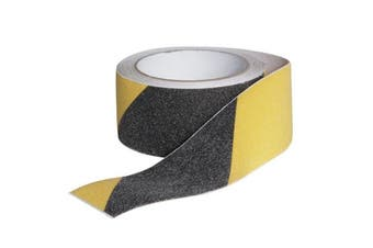 (Black and Yellow) - Camco 25405 RV Non-Slip Grip Tape for Steps