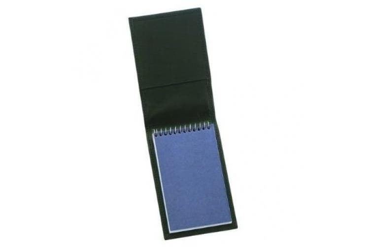 Strong Leather 72500-0002 Top Opening Note Pad Holder, Black