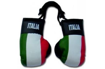 Italy Flag Mini Boxing Gloves