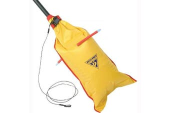 (Yellow) - Seattle Sports Dual-Chambered Paddle Float