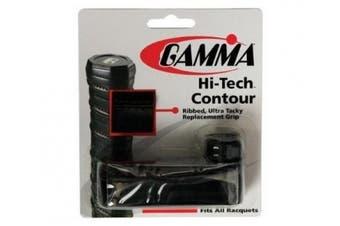 Gamma Hi-Tech Contour Replacement Grip, Black
