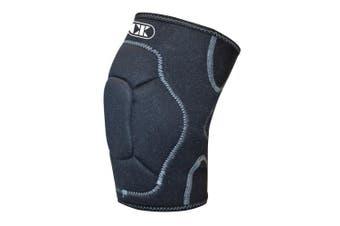 (Large, Black) - Cliff Keen Wraptor Lycra Knee Pad 2.0