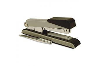 Bostitch B8 PowerCrown Flat Clinch Premium 40 Sheet Metal Stapler, Black (B8RC-FC)