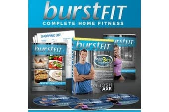 BurstFIT: Dr. Josh Axe's Complete Home Fitness Workout DVD Programme