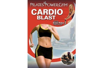 Pilates Power Gym PLUS Cardio Package Upgrade (Power Flex Cardio Rebounder with Cardio Blast DVD)