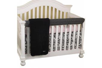 (Girly) - Cotton Tale Designs Girly Front Crib Rail Cover Up Set