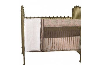 (Nightingale) - Cotton Tale Designs Nightingale Front Crib Rail Cover Up Set