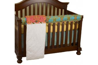(Gypsy) - Cotton Tale Designs Front Crib Rail Cover Up Set, Gypsy