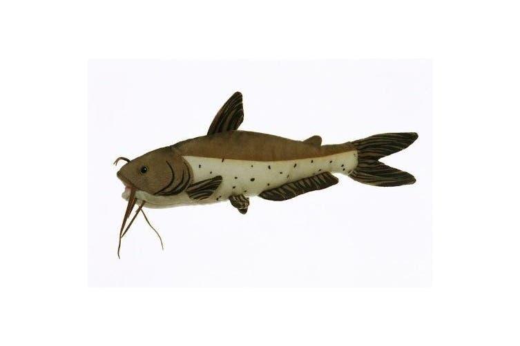 25cm Channel Catfish Fish Plush Stuffed Animal Toy