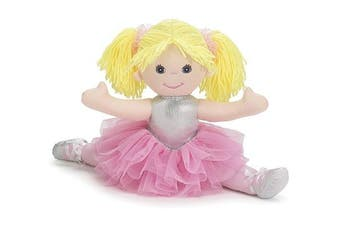 """Lindsey"" 46cm Ballerina Plush Doll Adorable Doll for Our Ballet Dancers"