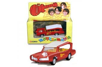 THE MONKEEMOBILE Detailed Diecast 13cm CORGI Vehicle from the Classic Television Series THE MONKEES