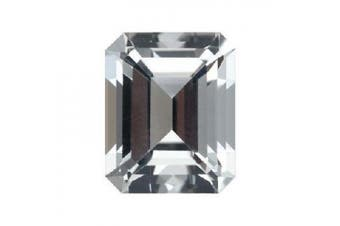 13.35 Cts of 18x13 mm AA Emerald Cut White Topaz ( 1 pc ) Loose Gemstone