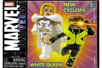 Marvel Minimates 9 New X-Men Cyclops and White Queen