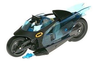 Batman Animated Figure and Vehicle: Batcycle