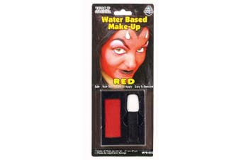 Red Water Based Make-Up
