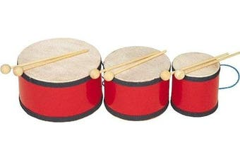 Rhythm Band Indian Tom Tom with Mallets 5x7