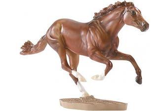 (Secretariat) - Breyer B1345 Traditional 1:9 Scale Secretariat 1973 Triple Crown Champion Horse