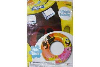 SPONGEBOB SQUAREPANTS INFLATABLE SWIM RING - Spongebob Swim Ring