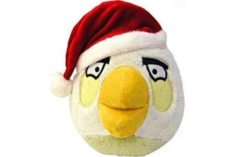 Angry Birds CHRISTMAS 20cm DELUXE Plush Figure White Bird