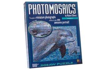 Photomosaic Dolphin Jigsaw Puzzle 1026pc