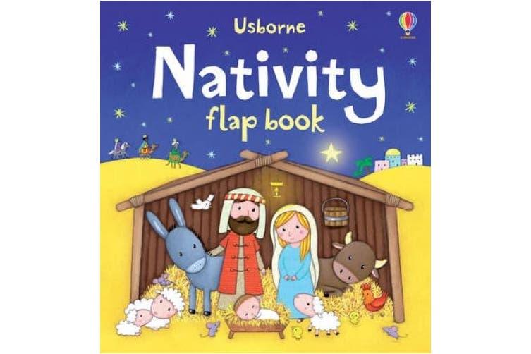 Nativity Flap Book [Board book]