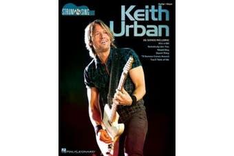 Urban Keith Strum & Sing Easy Guitar Gtr Bk