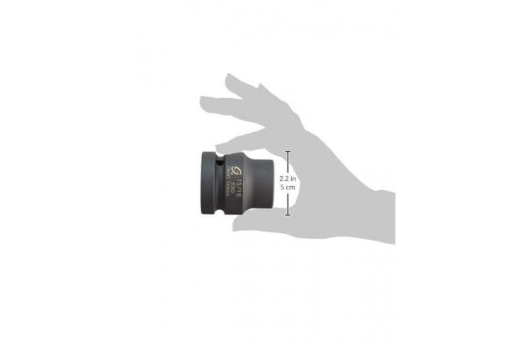 Sunex 530 2.5cm Drive 6-Point Impact Socket - 2.4cm