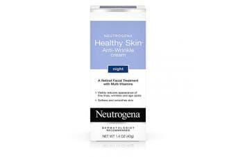 (Pack of 1) - Neutrogena Healthy Skin Anti-Wrinkle Night Cream 40ml
