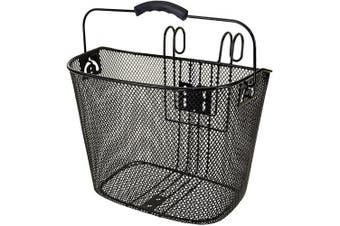 Ventura Easy-Mount Mesh Bicycle Basket