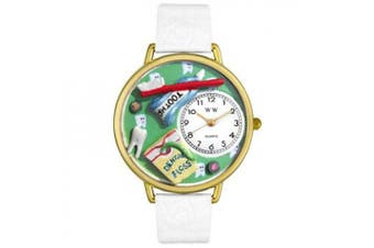 Whimsical Watches Unisex Dental Assistant Watch in Gold