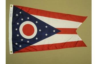(1.2m by 1.8m) - Annin 4' x 6' Ohio State Flag