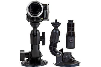 Delkin Devices Fat Gecko Double Knuckle Single Suction Cup Camera Mount