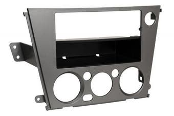 Scosche SU2025B ISO/DIN or Double-DIN with Pocket Kit for 2005 & Up Legacy/Outback