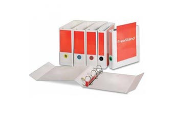 (5.1cm ) - Cardinal Brands, Inc Freestanding D-ring Binders, 11''x8-1/2'', 2'' Capacity, White