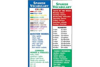 SPANISH VOCABULARY SMART BOOKMARKS