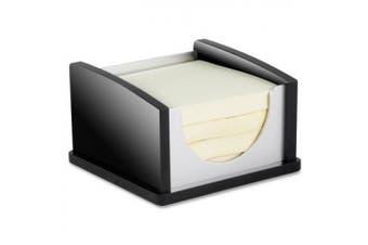 (Memo Pad Holder) - Kantek Memo Pad Holder, Aluminium, Black/Acrylic