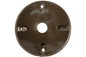 Morris Products 4'' Round Weatherproof Covers in Bronze