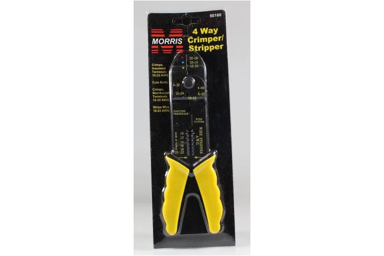 Morris Products Economy Crimper / Stripper Screw and Wire Cutter