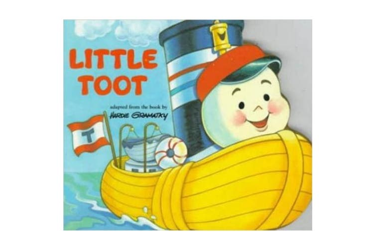 Little Toot Board Book [Board Book]