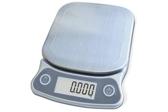 EatSmart Precision Elite Digital Kitchen Scale - 6.8kg. Capacity, UltraBright Display and Stainless Steel Platform