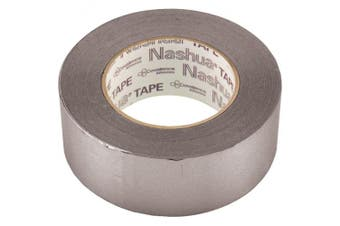 (48mm x 55m, Silver) - Duct Tape, Glues & Epoxy: Nashua Tape Adhesives & Fillers 2.5cm - 2.2cm . x 60 yd. 398 All-Weather Hvac Duct Tape - Silver Greys 1207795