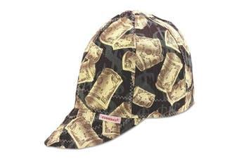 Comeaux Caps Round Crown Caps - cc 1000-7 5/8 comeaux cap